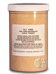 Fly Free Garlic Powder For Horses